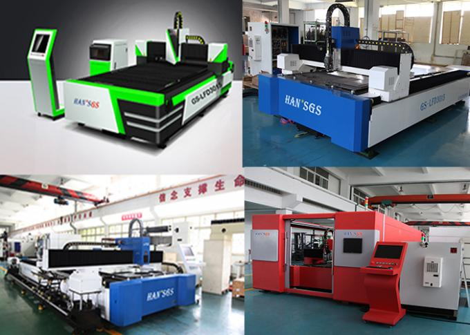 CE / ISO Certificate Metal Plate Cutting Machine with IPG Laser Source