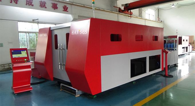Fast Cutting Speed Stainless Steel Laser Cutting Machine Easy Maintenance 42 m / min