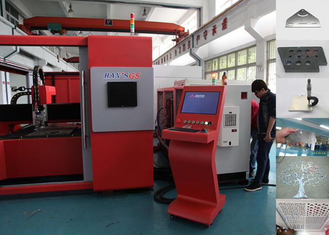 IP54 42 M/Min Speed Cnc Laser Cutting Machine For Stainless Steel , 2 Years Warranty