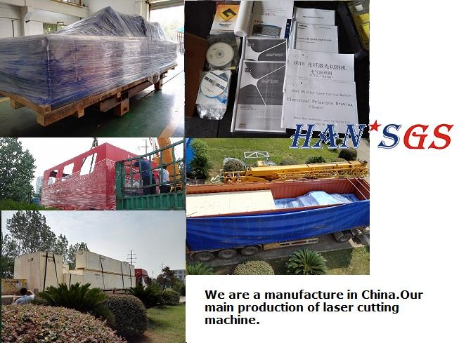 1MM  to 5MM Stainless steel Laser cutting machine , Fiber Laser cutting machine factory in China