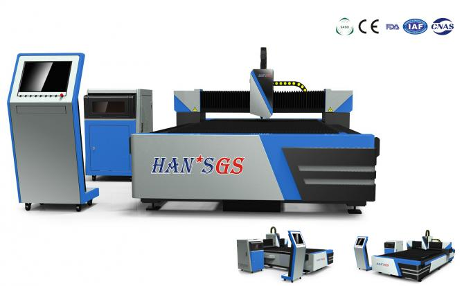 Fiber Laser Cutting Machine for 5mm to 8mm Metal Cutting , Effective Cutting Size 1500*3000mm