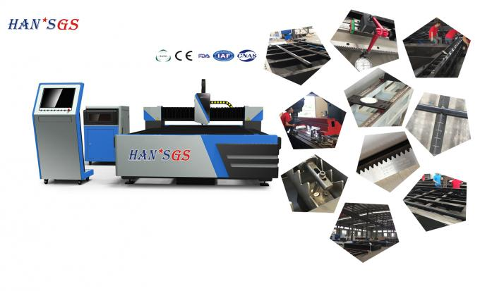 Custom Metal Laser Cutter Machine , 380v Cnc Tube Cutting Machine