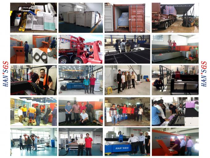 CNC Fiber Metal Laser Cutting Machine for Carbon , Stainless Steel , Copper