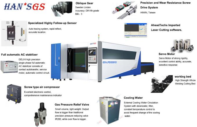 CNC Sheet Metal Laser Cutting Machine Used In Sports Equipment , Auto Spare Parts