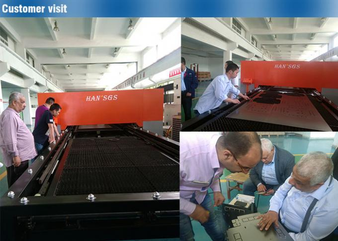 1000w Automatic Sheet Metal Fiber Laser Cutting Machine , Steel Laser Cutter