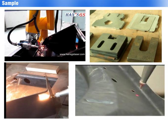3D Automatically Robot Fiber Sheet Metal Laser Cutting Machine , Metal 3d Laser Cutter