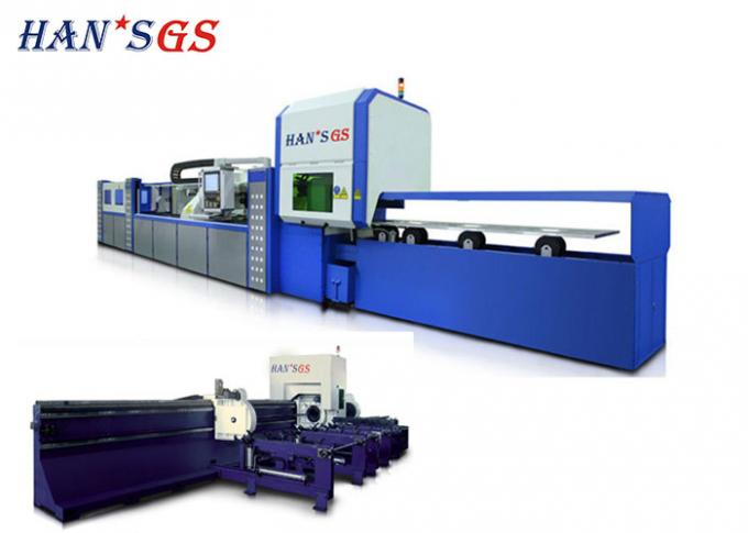 GS-LFTC60 Metal Laser Cutting Machine / Laser pipe cutting equipment