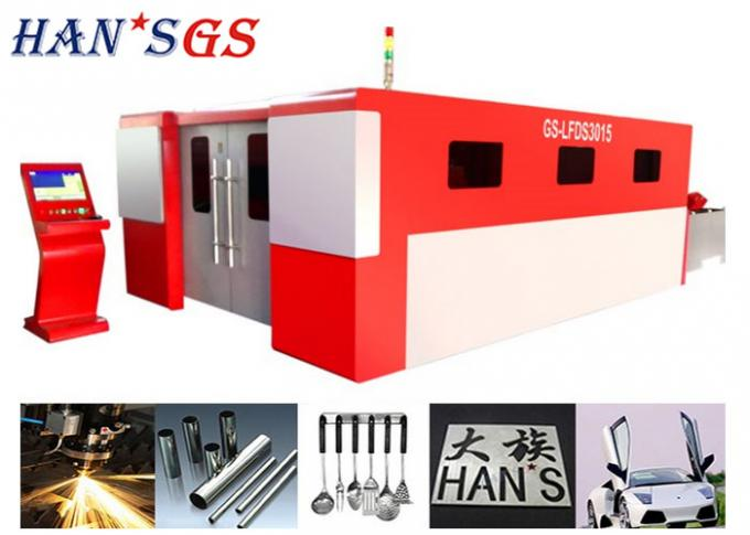 500W 1000w 1500w CNC Sheet Metal Fiber Laser Cutting Machine Processing Machinery
