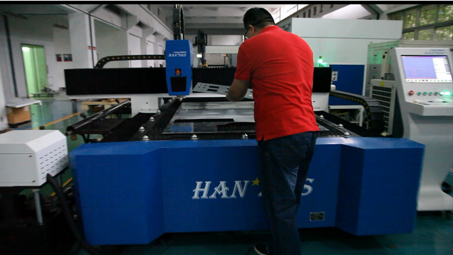 1KW 2KW 3KW Steel Pipe Cutting Machine Metal Sheet & Tube Laser Laser Cutter