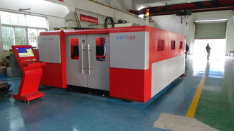 China Alloy Steel Sheet Metal Laser Cutting Machine Full automatic Tracking System supplier