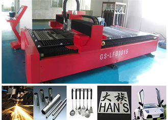 China Water cooling Alloy Steel Metal IPG Fiber Laser Cutter with Japan Servo Motor supplier
