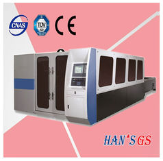 China CNC Aluminum / Stainless Steel Laser Cutting Machine supplier