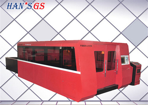 China Safety Auto - focus Head Metal Plate Cutting Machine with Industrial Laser System supplier