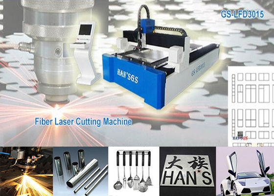 China Stainless and Carbon Fiber Laser Cutting Machine , CNC Laser Cutter supplier