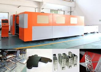 China Water Cooling Metal Laser Cutting Machine IPG 500w For 5mm Carbon Steel , 42 M/Min Speed supplier