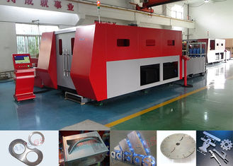 China Water Cooling Metal Plate Cutting Machine For 1-6mm Stainless Steel Cut , ISO 9001 Listed supplier