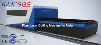 China Metal Laser Cutter Machine Professional Cutting Carbon Steel / Stainless Steel supplier