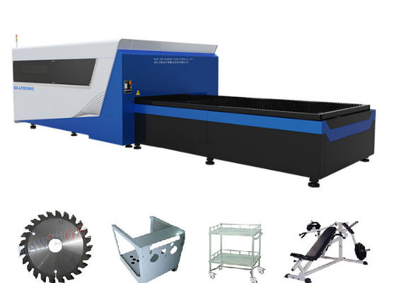 China Convenient  Fiber Optic Sheet Metal Laser Cutting Machine Water cooling Method supplier