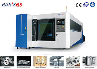 China Fast Speed CNC Plate Cutting Machine for SS / CS Sign Making 0.2 - 16mm supplier