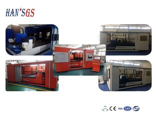 China Fiber Stainless Steel Sheet Cutting Machine With Cover , Professional Ss Laser Cutting Machine supplier