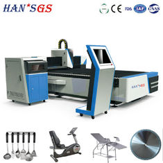 China 500W 1kw 2kw Sheet Fiber Laser Cutting Machine For Metal With Double Drive supplier