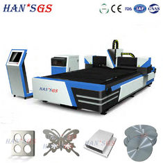 China Advanced Ss / Ms / Alu Metal Laser Cutting Machine 6000*2000mm High Precision supplier