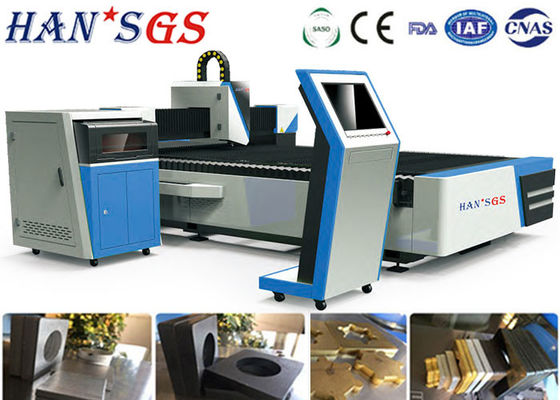 China High Speed Stainless Laser Cutting Metal Machine 1000w For Galvanized Plate supplier