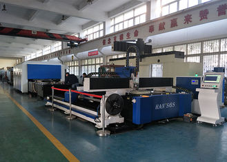 China Round Tube & Sheet Laser Cutting Equipment 1000w / 1500w / 2000w supplier