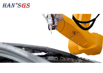 China 3D Automatically Robot Fiber Sheet Metal Laser Cutting Machine , Metal 3d Laser Cutter supplier