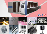 China 380V Metal Plate Cutting Machine for SS / CS With Fiber Laser source factory