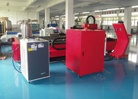 500W / 1000W CNC Laser Cutting Machine With 42 M/Min Speed , 50/60Hz Frequency