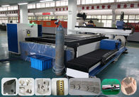 China Round / Square Tube Pipe Sheet Cnc Laser Metal Cutting Machine 0.1~0.3 Mm Kerf Width factory
