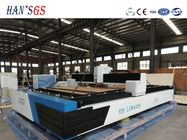 China High Powered Fiber Optic Laser Cutting Machine For 3mm Stainless Steel Sheet Metal factory