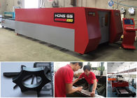 China Fiber Sheet Metal Laser Cutting Machine For Machine Element & Advertising Industry factory