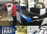 China Water Cooling 700w 1500w Plate Laser Cutter For Metal / Laser Steel Cutting Machine factory
