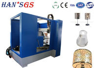 500 W Sheet Metal Cutter Machine , Lampshade Cnc Fiber Laser Cutting Machine