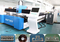 China Pipe And Aluminum Sheet Laser Cutting Machine , 1000 W Fiber Laser Cutting Machine factory