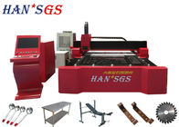 500W/1000W Small Laser Metal Laser Cutter For 5mm 10mm 12mm 15mm Steel Plate Cutting