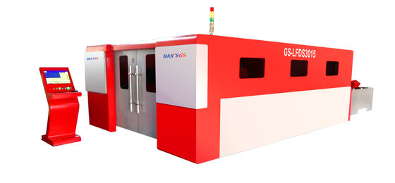 China Sheet Metal Laser Cutting Machines with Wolrd Famousopen CNC System distributor