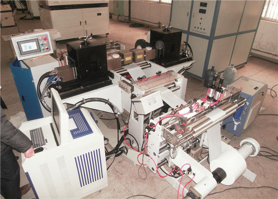 China CO2 laser source automatic perforating machine for punching plastic film distributor