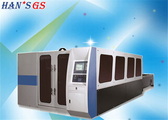 China CE / ISO Certificate Metal Plate Cutting Machine with IPG Laser Source factory