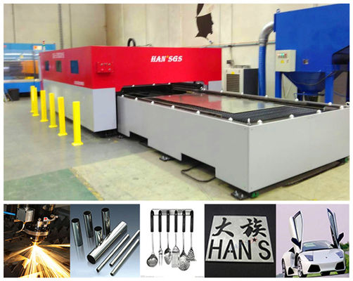 China Custom Shape Thin Metal Workpieces cnc laser cutter machine / sheet metal cutter factory
