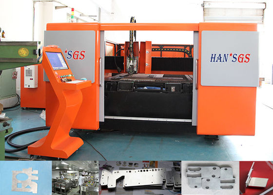 China 1000W Steel Plate Cutter Machine , SPI Laser Plate Cutting Machine 120 M/Min Max Speed factory