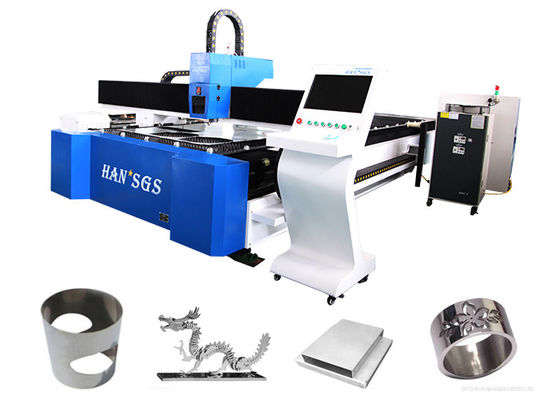 China Water Cooling Steel Pipe Cutting Machine / CNC Cutting Machine High Power distributor