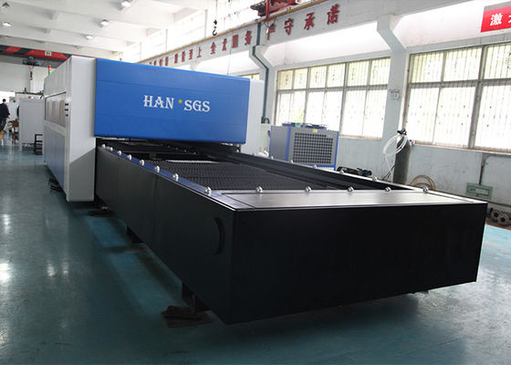China Higher Laser Power Fiber 3000W CNC Metal Sheet Cutting Machine / SS Laser Cutting Machine distributor