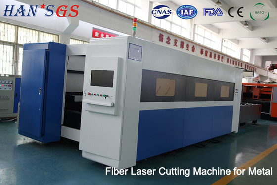 China 500W to 3000W Fiber Laser Cutter Sheet Metal Laser Cutting Machine 100, 000 Hours  Lifetime factory
