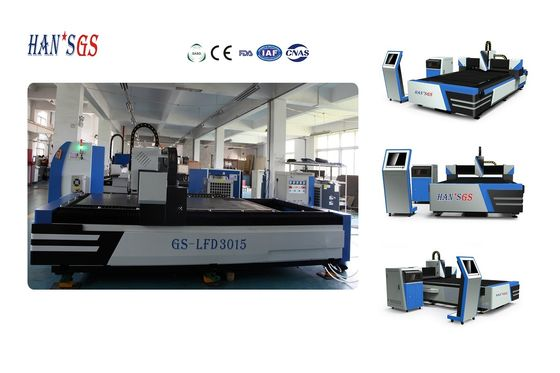 China HANS GS 500W Fiber Laser Cutting Machine for Metal Sheet and Tube Pipe factory