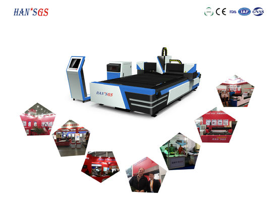 China Carbon Steel / Stainless Steel Fiber Laser Cutter Machine 380V/50Hz/60Hz factory