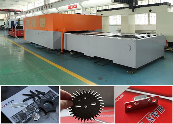 China 60 Hz Fiber Laser Cutter For Sheet Metal Processing / Tube Laser Cutting Machine factory