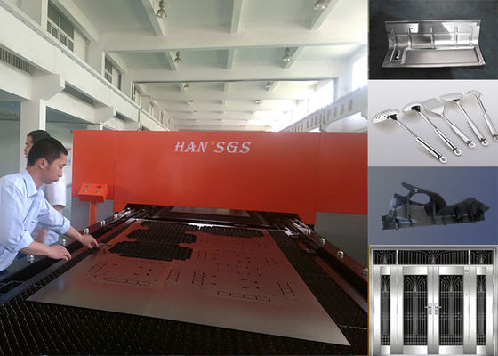 China 3000*1500Mm Tube Laser Cutting Machine , Ipg Sheet Metal Laser Cutter 1000w factory